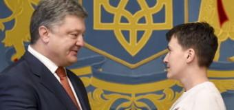Надежда Савченко готова сесть в кресло президента