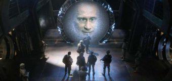 Телепортацию Путина высмеяли в новых фотожабах