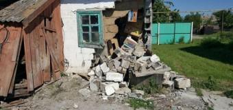Обнародованы фото последствий обстрела Николаевки на Донбассе