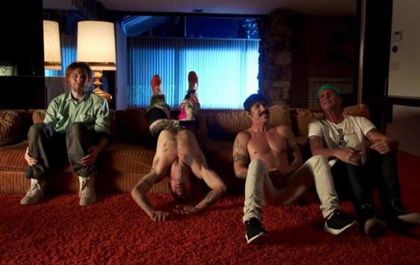 Новый клип Red Hot Chili Peppers набирает популярность