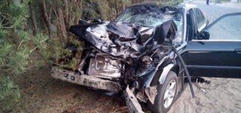 В Ровно четыре человека погибли при столкновении BMW и мотоцикла. Фото