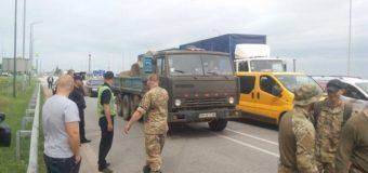Ветераны АТО перекрыли трассу в Житомире. Фото