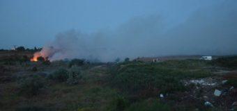 В Николаеве ликвидировани пожар на свалке