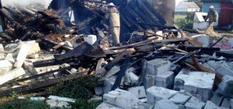 В Житомирской области взорвался дом. Фото