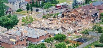 В Канаде произошел мощный взрыв: опубликовано видео