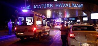 Двое украинцев остаются в больнице после взрыва в аэропорту Стамбула