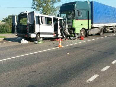 Под Курском в ДТП погибли 6 украинцев