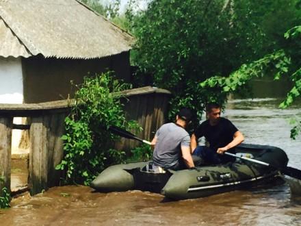 В Полтавской области подтопило более 100 домов