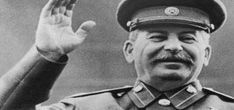 В сети высмеивают вывеску боевиков со Сталиным в Донецке. Фото