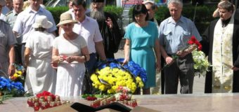 Запорожцы почтили память жертв войны. Фото
