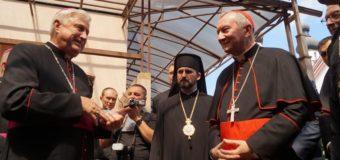 Госсекретарь Ватикана в Запорожье дал старт акции «Папа для Украины». Фото