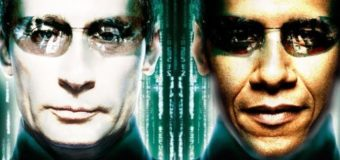 Сеть «взорвали» фотожабы на поздравление Путином Обамы