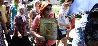 Тимошенко «канонизовали»: участники крестного похода на Киев сделали из Юли икону. Фото