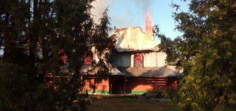 В Ивано-Франковской области произошел пожар в греко-католической церкви. Фото