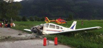 В Австрии после падения самолета чудом выжили пассажиры. Фото
