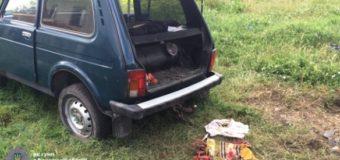Машину лесника взорвали в Ровенской области. Фото