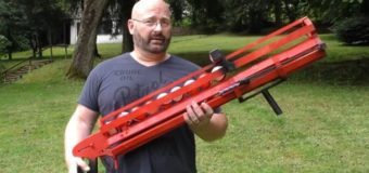 Немец сконструировал пушку для ловли покемонов. Видео