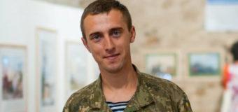 В Одессе открылась выставка картин морского пехотинца. Фото