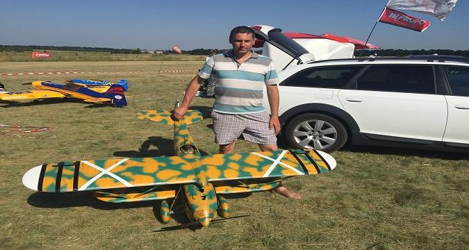 Авиамоделисты Украины соревнуются в Виннице. Фото