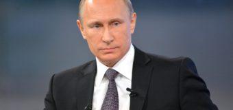 Путин на комбайне: сеть «взорвала» новая карикатура. Фото