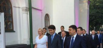 Премьер Канады побывал в Софии Киевской