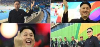 Двойник предводителя Северной Кореи посетил Олимпиаду