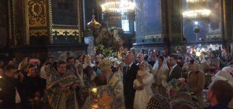 Тимошенко поделилась фото с крестин трехмесячной внучки