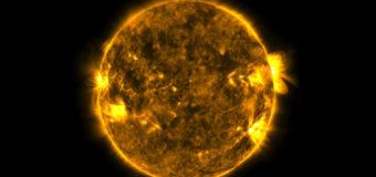 Редкие кадры двойного затмения Солнца. Видео