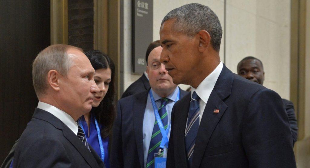 Сеть «взорвали» уморительные фотожабы на зрительный контакт Путина и Обамы