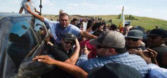 В США между индейцами и строителями нефтепровода произошли столкновения