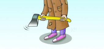 Шестилетняя девочка остановила грабителя с топором. Видео