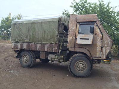 Волонтер был шокирован военной техникой на Донбассе
