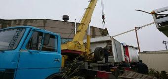 Демонтированные МАФы в Днепре отдадут военным. Фото
