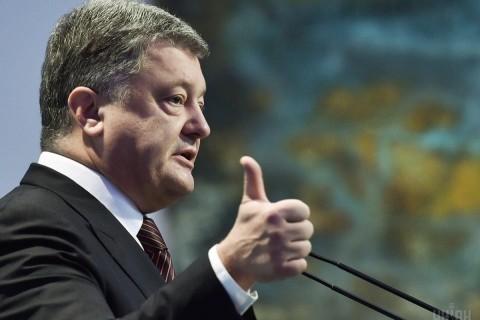 Петр Порошенко наградил своего пресс-секретаря орденом