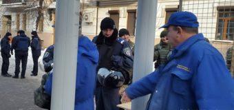 В Киеве перекрыли Крещатик, работают взрывотехники. Фото