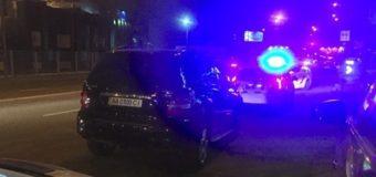 Решить вопрос на месте: в Киеве с погоней задержали пьяных СБУшников. Фото