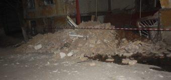 В центре Кропивницкого рухнул жилой дом. Фото