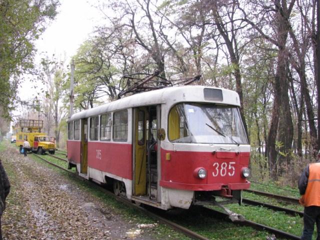В Запорожье под обстрел попал трамвай