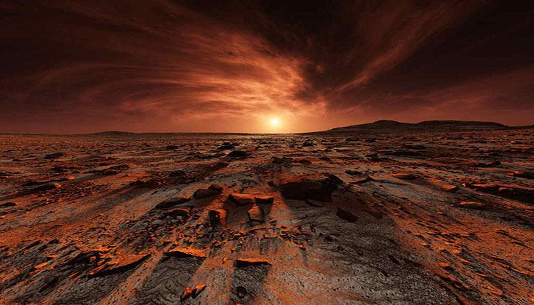 На Марсе нашли рисунок женщины