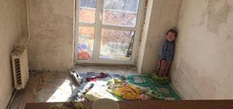 В Киеве нашли наркопритон с трехлетним ребенком в «вольере»