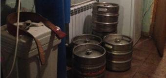 В Киеве работал цех по производству «паленого» пива