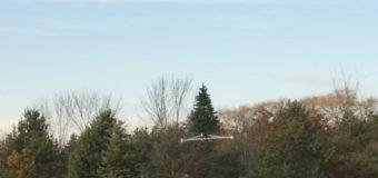 Американцы создали летающую дрон-ёлку. Фото
