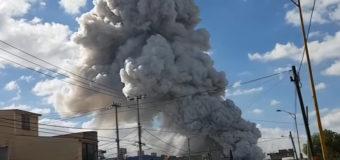 Взрыв на рынке фейерверков в Мексике: есть жертвы. Фото. Видео