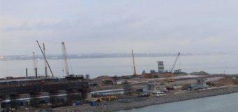 Строительство керченского моста продвигается: опубликованы новые кадры