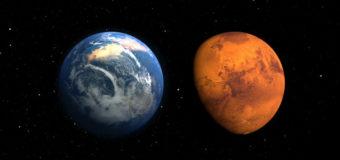 Земля превращается в подобную Марсу пустыню