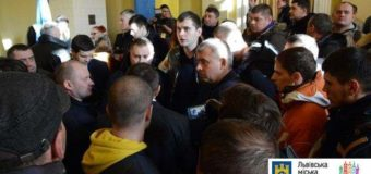 Во Львове сорвали сессию горсовета из-за скандала. Видео