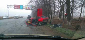 Под Одессой едва не разорвало пополам ВАЗ. Фото