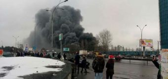 В сети появились подробности жуткого пожара на киевском рынке