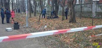 В центральном парке Одессы нашли обугленный труп
