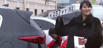В России петербургским автомобилистам выдают крымские номера